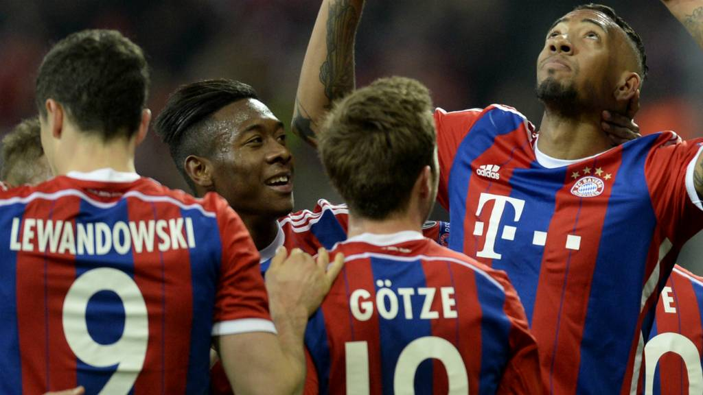 Jerome Boateng celebrates