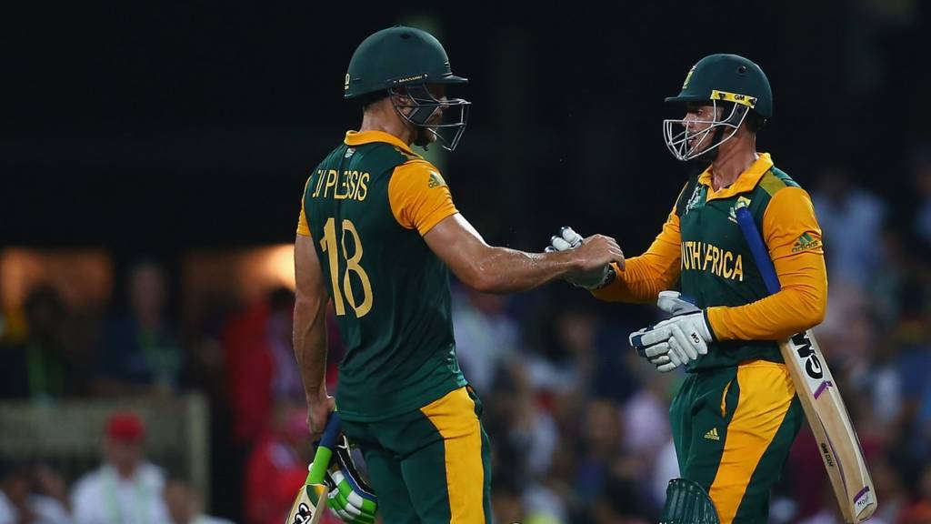 Faf du Plessis and Quinton de Kock