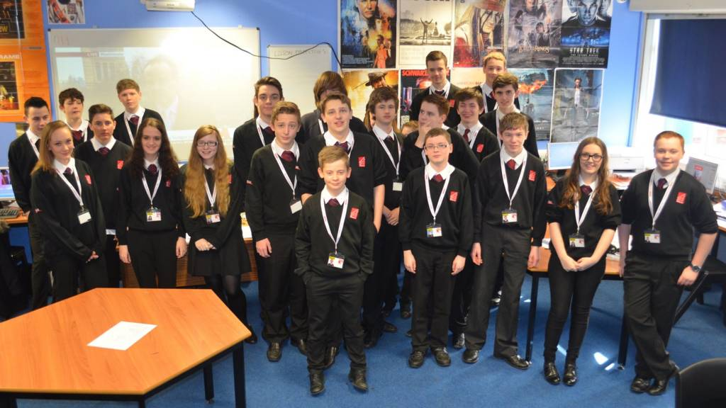 School Report News Day 2015 - BBC News