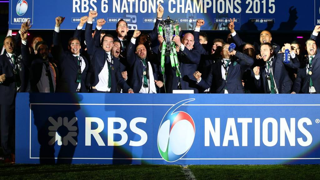 Ireland crowned champions