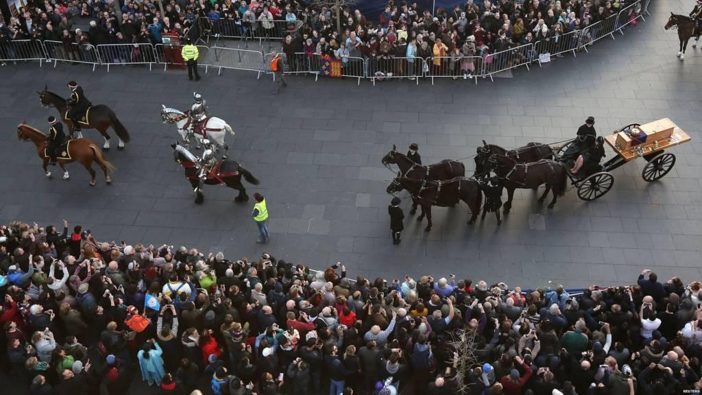 Richard III funeral