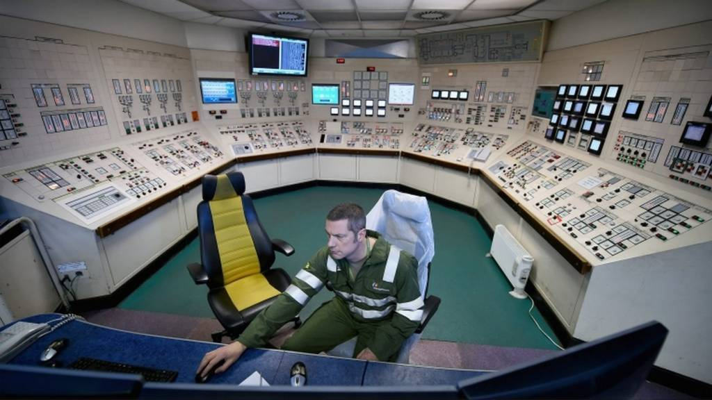 Longannet control room