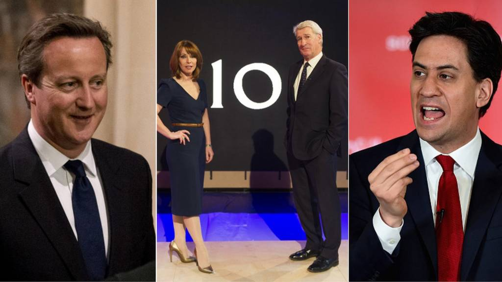 Composite picture of William Hague, David Cameron, Kay Burley, Jeremy Paxman, Ed Miliband and John Bercow