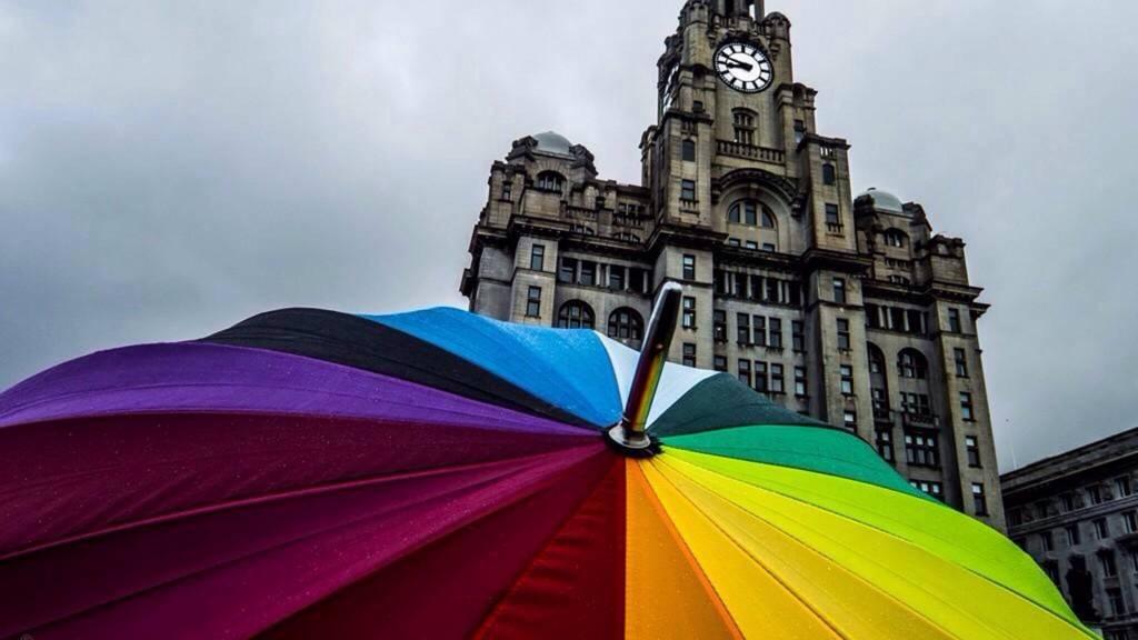 Umbrella in Liverpool