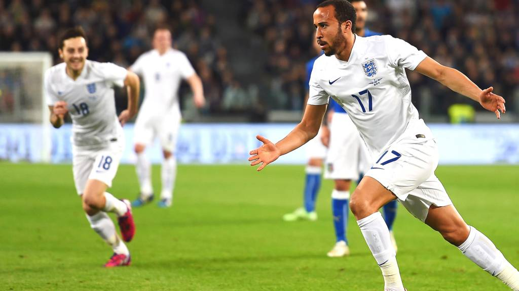 Andros Townsend celebrates