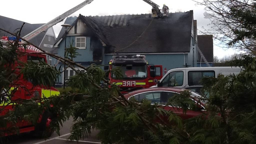 Bicester fire
