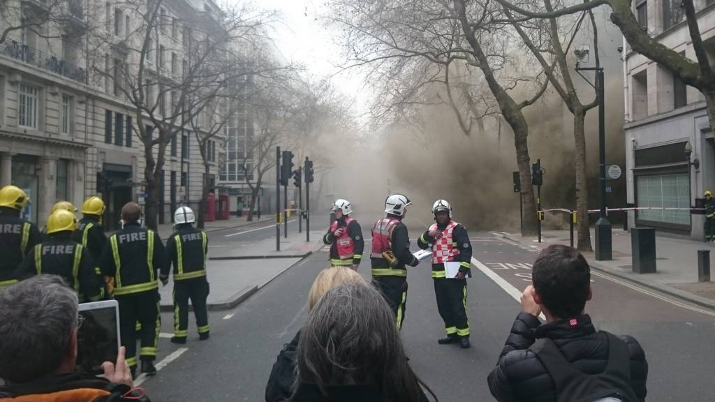 Fire in Holborn