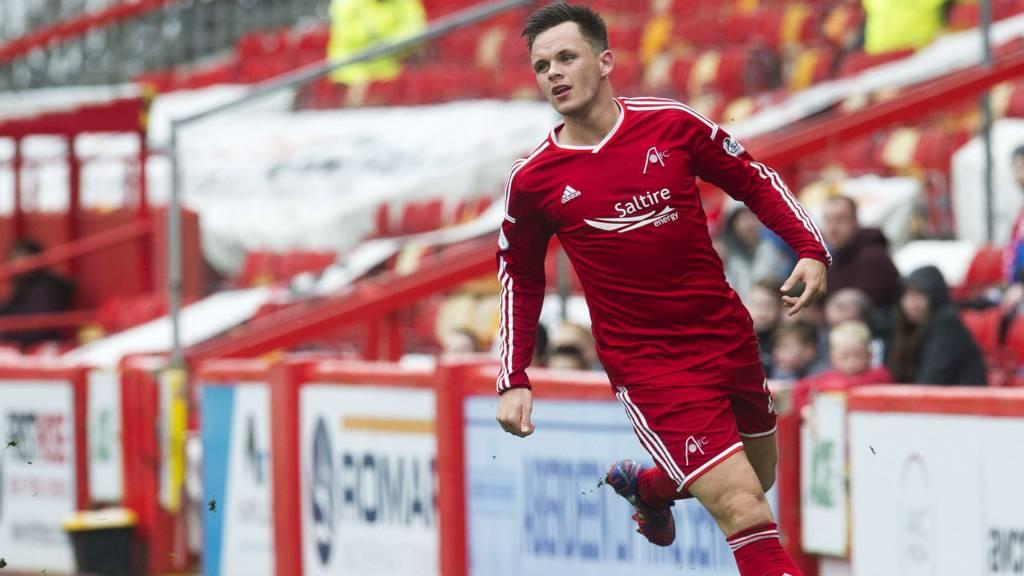 Aberdeen forward Lawrence Shankland
