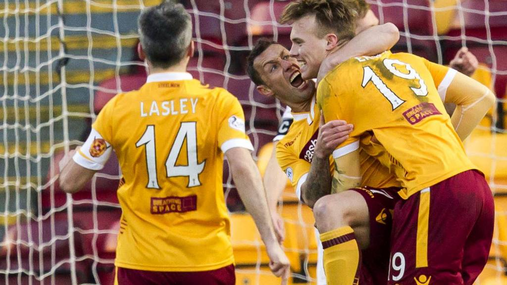 Motherwell scored two early goals at Fir Park