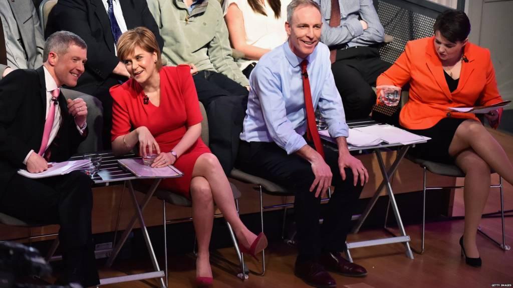 Scottish leaders' debate