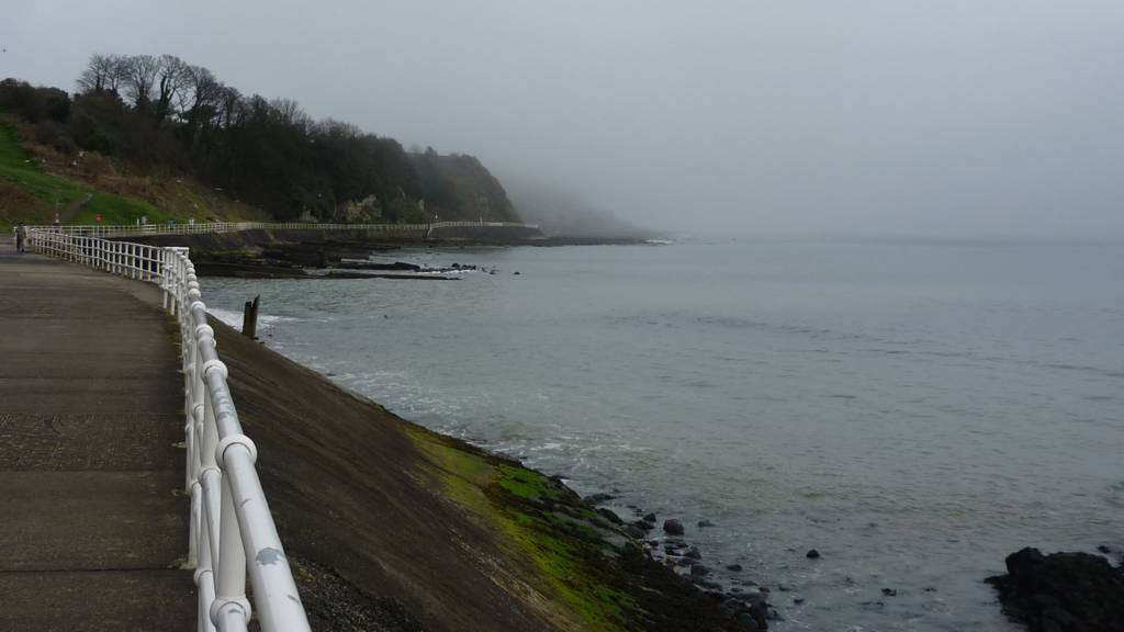 Mist over Larne