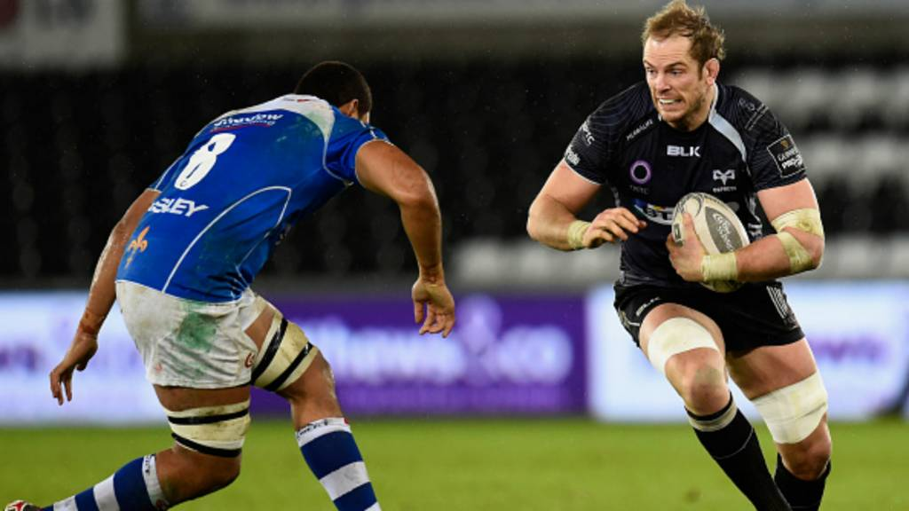 Alun Wyn Jones of Ospreys