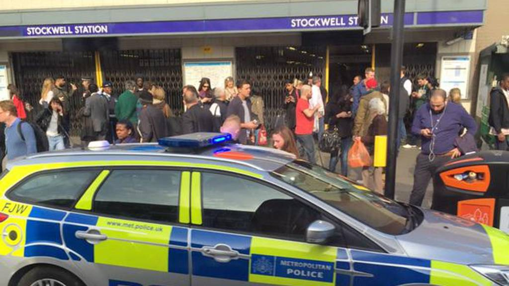Stockwell station incident