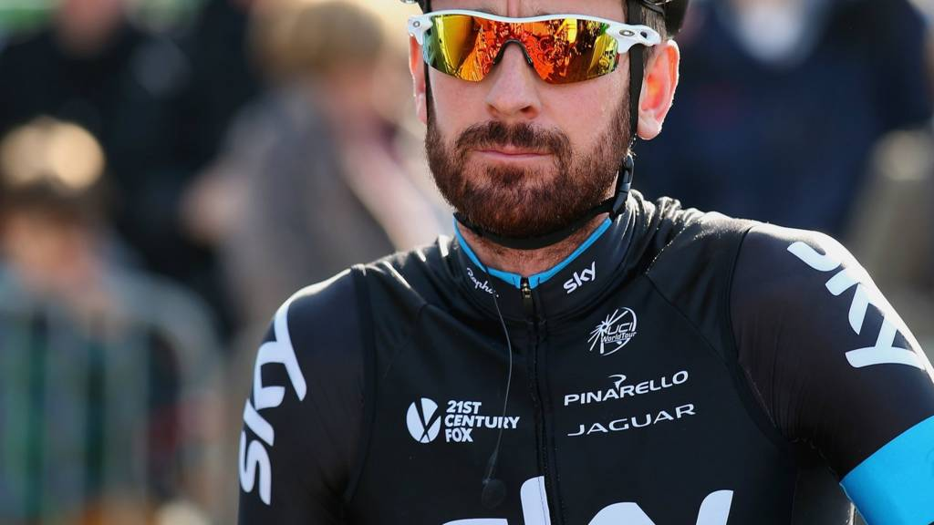 Bradley Wiggins at Paris-Roubaix