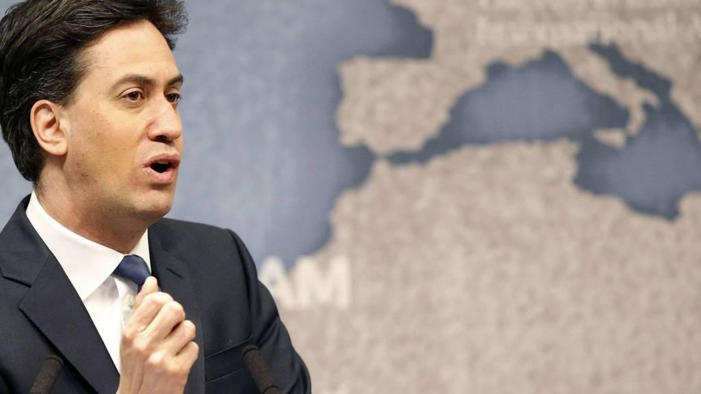 Ed Miliband at Chatham House