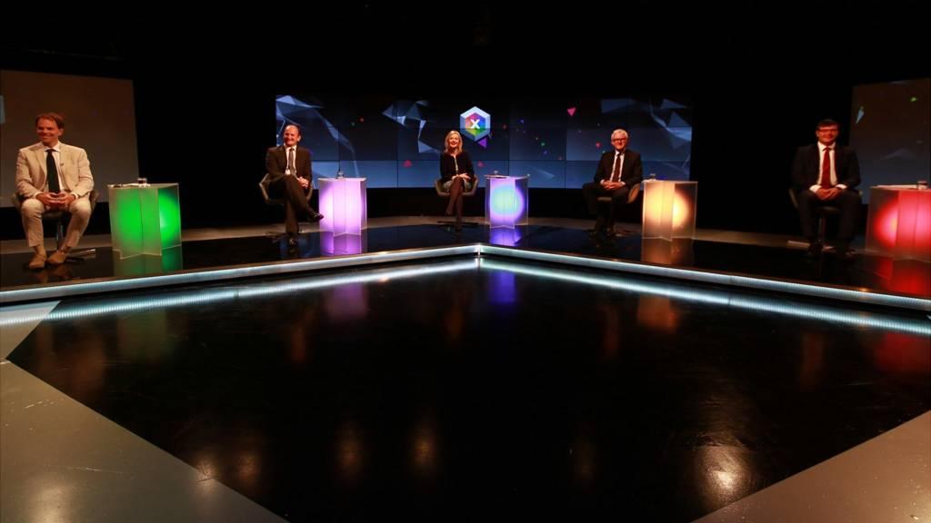 East Debate panel