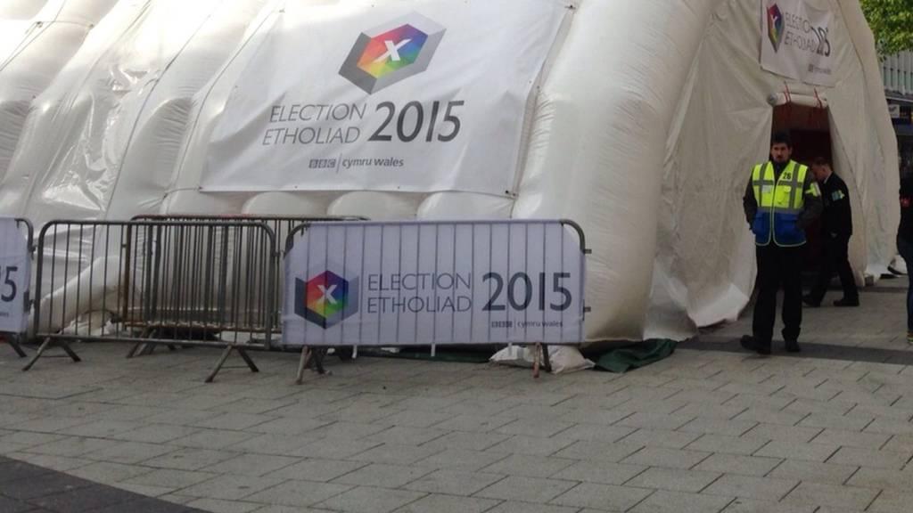 BBC tent
