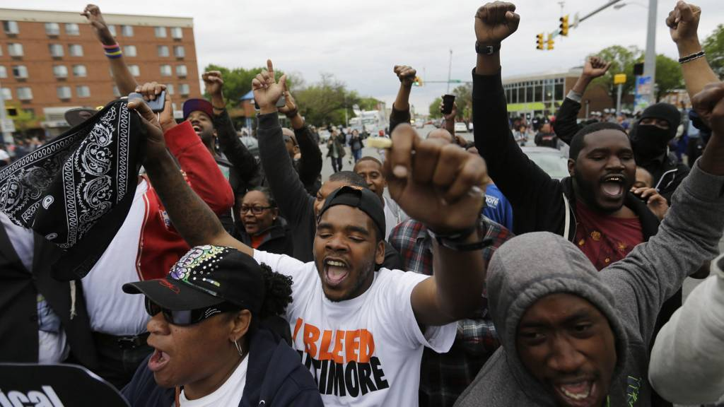 Celebrations in Baltimore