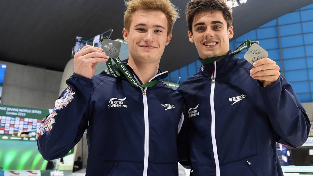 Jack Laugher and Christopher Mears