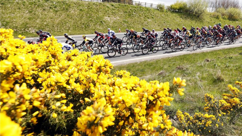 Tour de Yorkshire riders