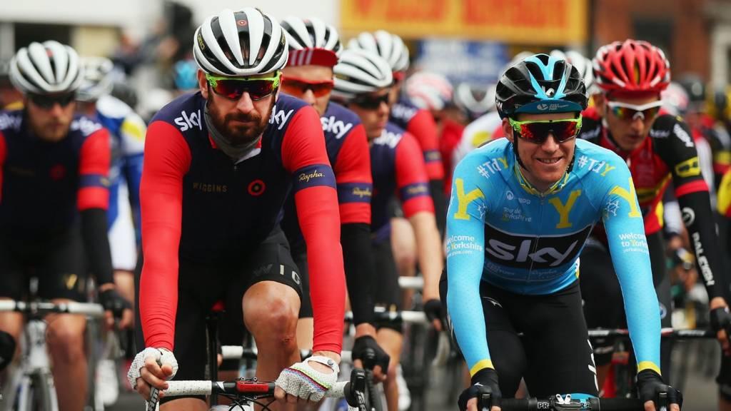 Bradley Wiggins in Tour de Yorkshire