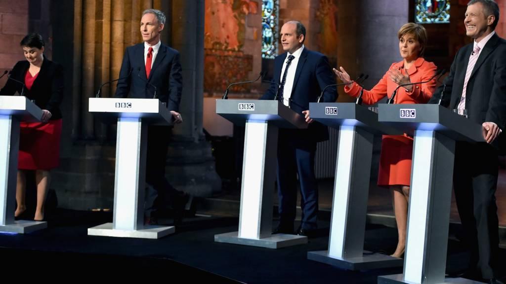 Scottish leaders debate