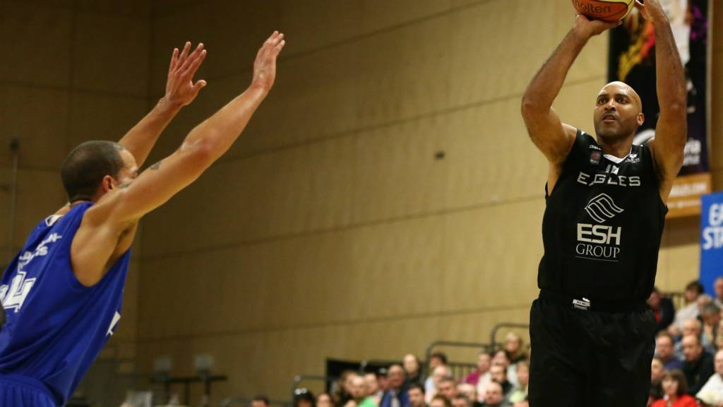 Newcastle Eagles' Charles Smith