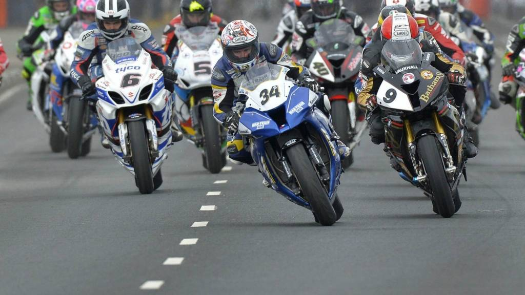 NW200 Superbike race