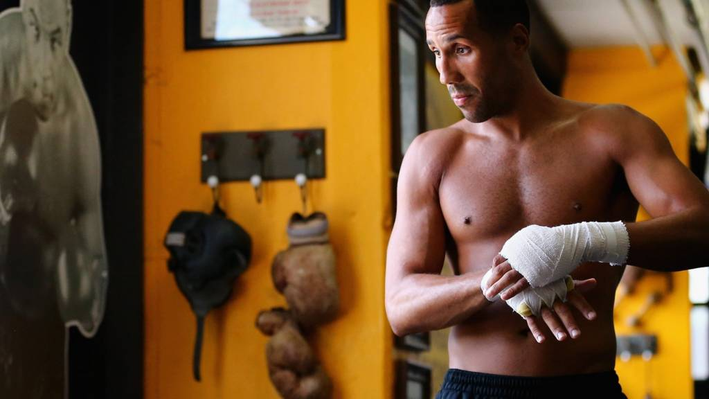 British Boxer James DeGale