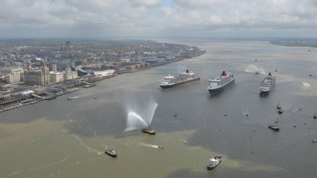 The Three Queens in the Mersey