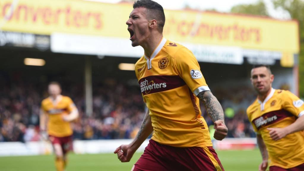 Marvin Johnson opened the scoring for Motherwell