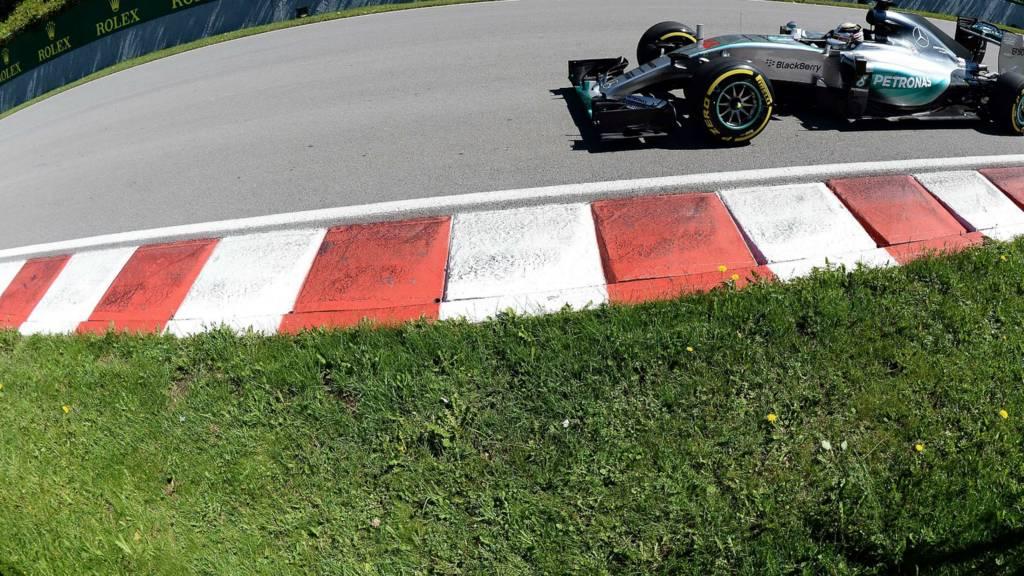 Lewis Hamilton's Mercedes