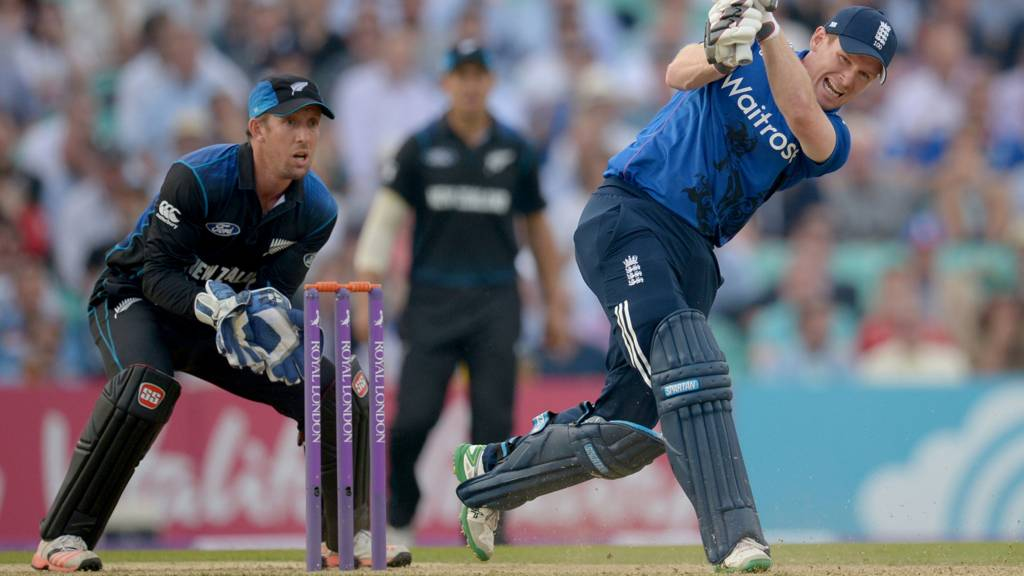 England v New Zealand second one-day international, The Oval - Live