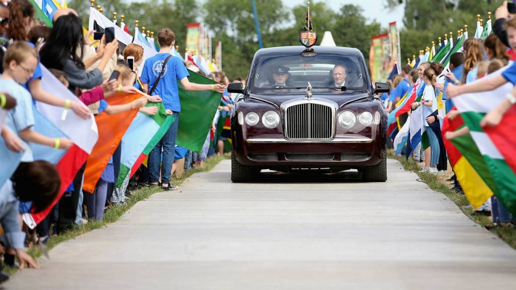 The Queen at Runnymede
