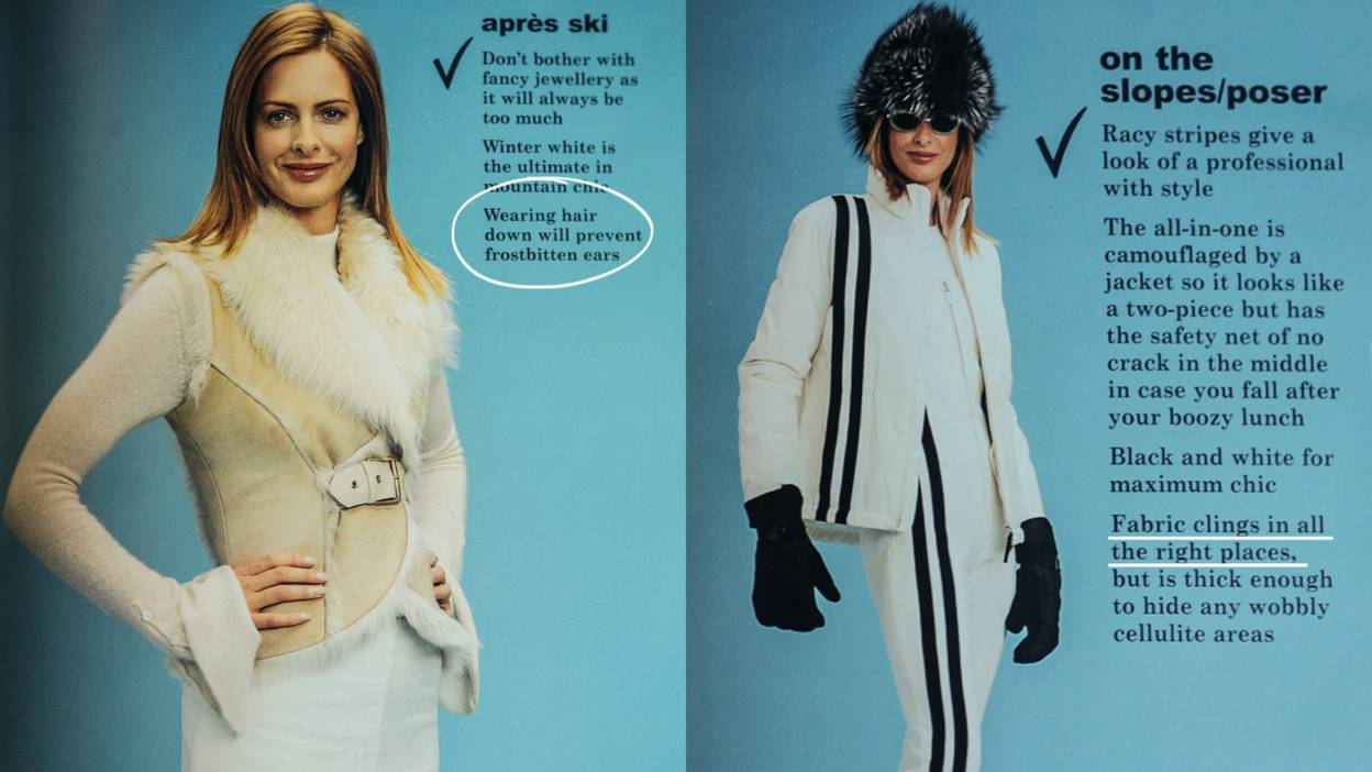 Wear not to what bbc trinny susannah