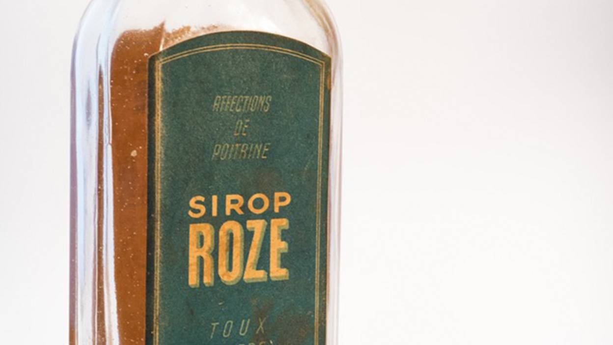 Vintage drugs objects