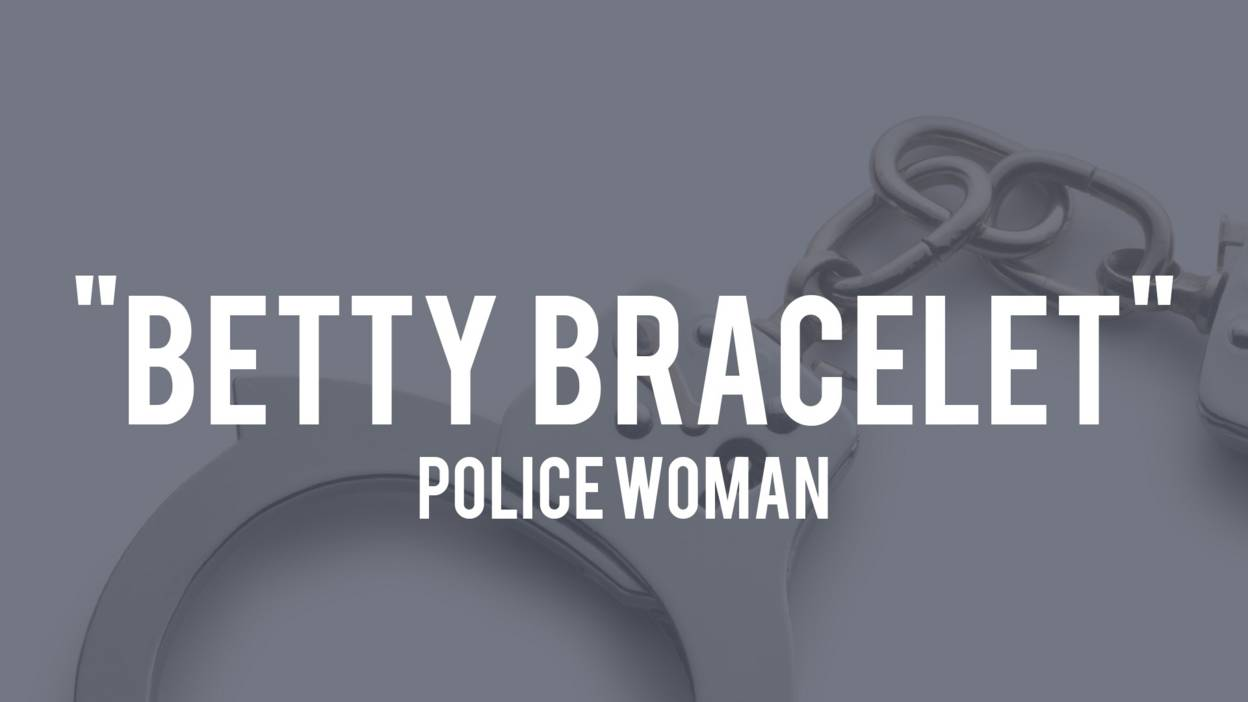 Polari slang for police officers - Betty Bracelet