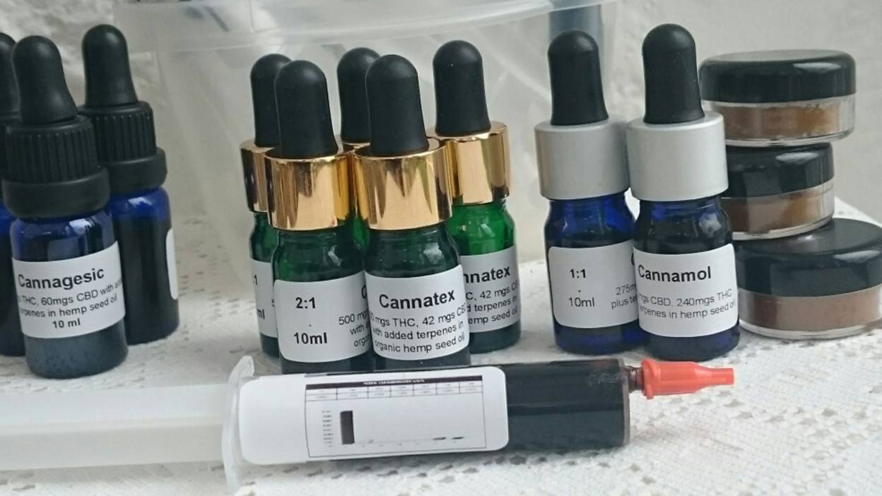 cannabinoid preparations