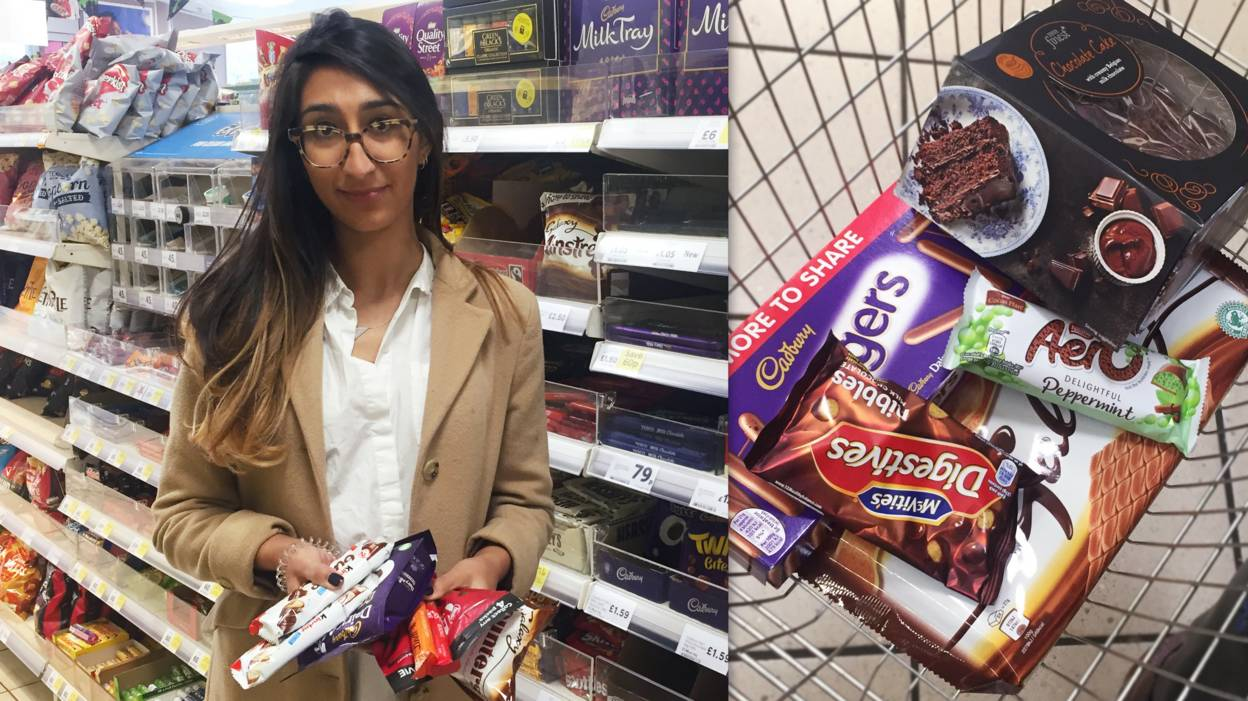 Radhika gave up sugar for two months.