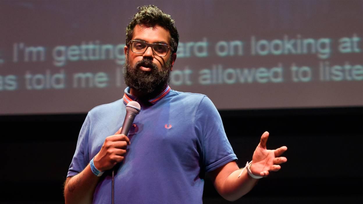 Romesh Ranganathan has an impressive beard