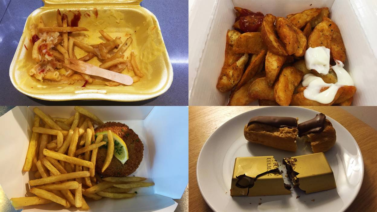 Modern diet from England for 3 weeks