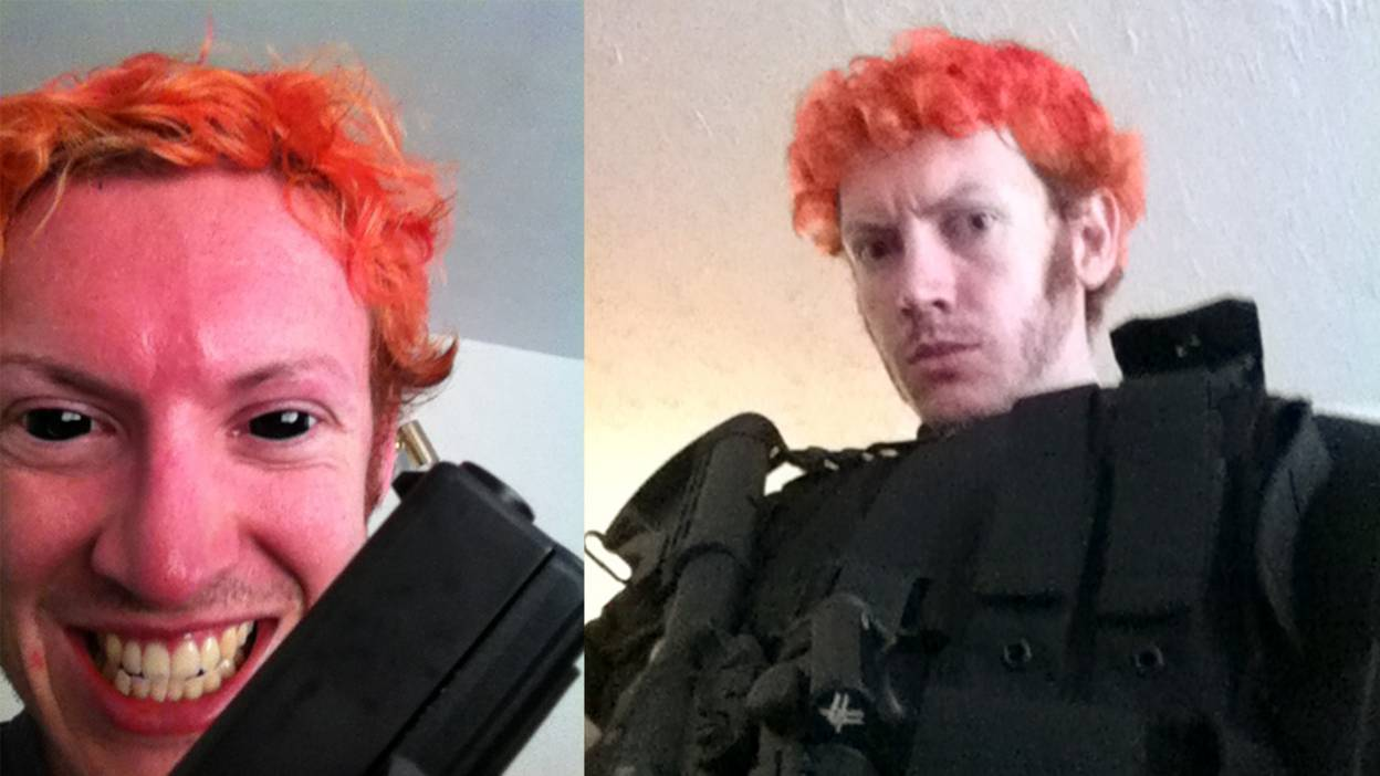 James Holmes before the shooting