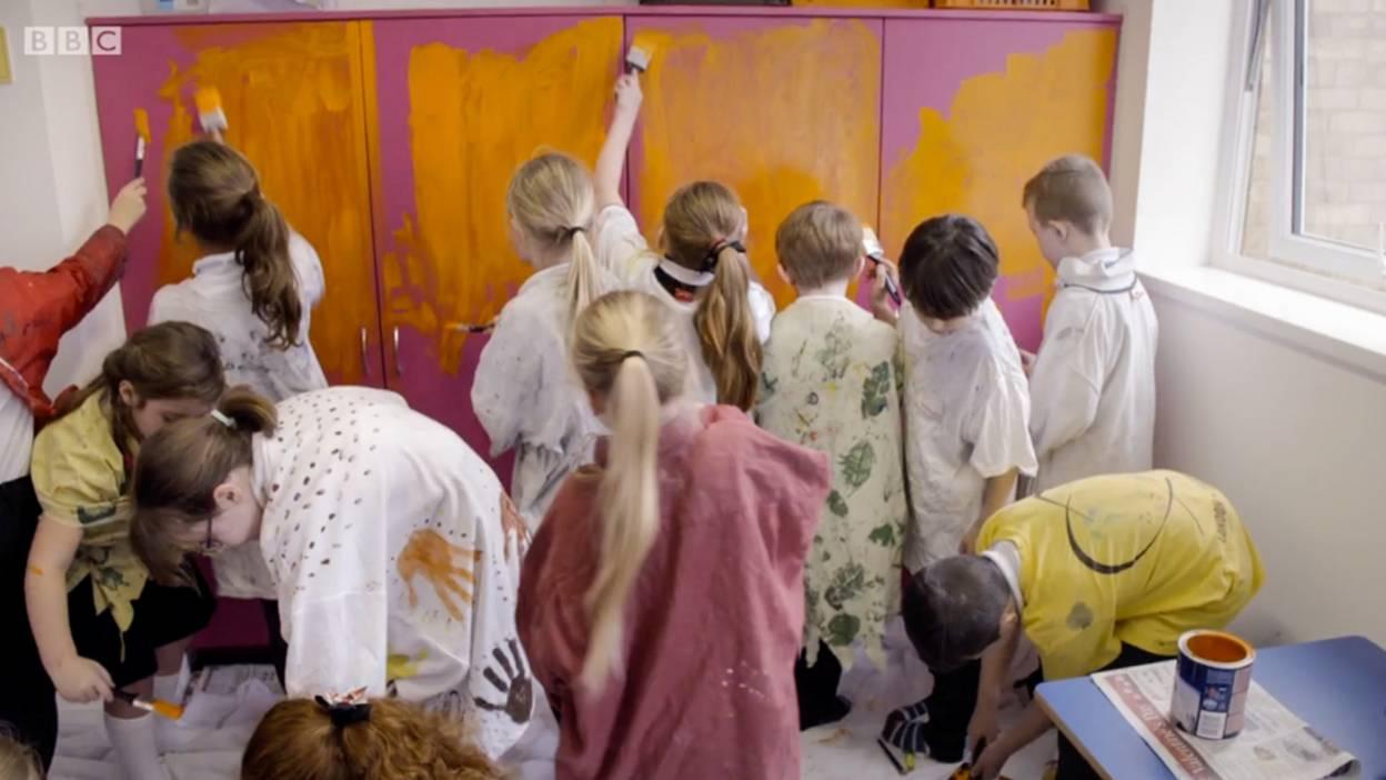 Children make their classroom more gender neutral