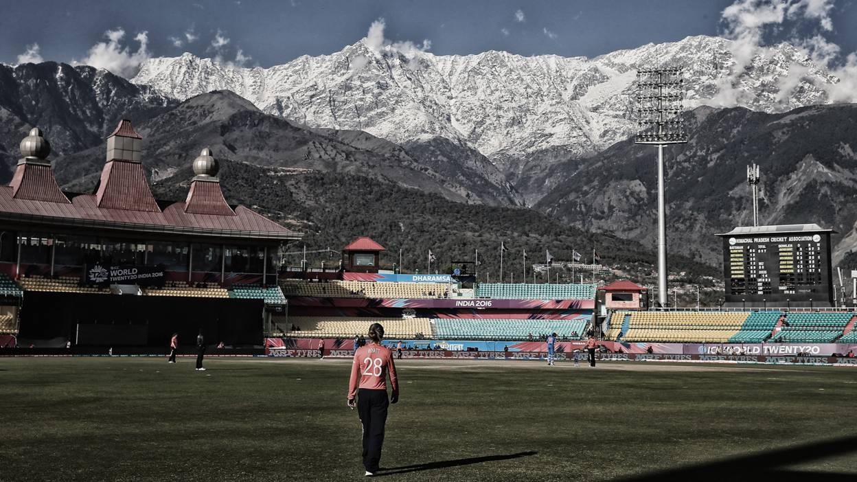 Dharamsala, India. Danielle Wyatt of England, Women