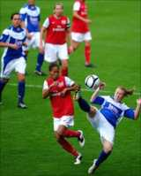 Arsenal beat Birmingham 4-1 in the Continental Cup final on Sunday