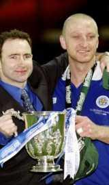 Martin O'Neil (left) and Matt Elliott