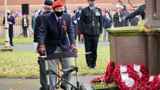 An old soldier remembers his comrades