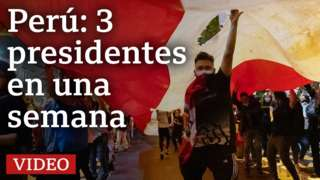 Perú: 3 presidentes en una semana