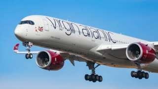 Самолет Virgin Atlantic