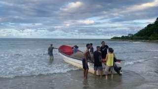 Fishermen take to the sea in Venezuela